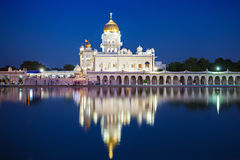 Gurdwara Bangla Sahib Royalty Free Stock Images