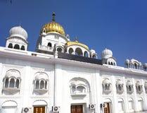 Gurdwara Bangla Sahib temple , New Delhi, India Royalty Free Stock Image