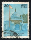 Gurdwara Baoli Shrine. INDIA - CIRCA 1979: stamp printed by India, shows Gurdwara Baoli Shrine, circa 1979 stock image