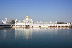 Gurdwara dukh nivaran sahib伯蒂亚拉 库存照片