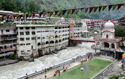 Gurdwara manikaran sahib ji Royalty Free Stock Photography