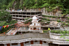 Gurdwara Manikaran Sahib Tample In Manikaran Town, India Royalty Free Stock Photography
