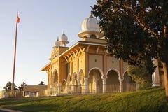 Gurdwara sikh San Jose (vista lateral) imagem de stock royalty free