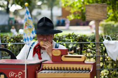 gurdy hurdy Zdjęcie Stock