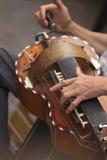 gurdy hurdy 免版税图库摄影