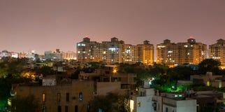 Gurgaon Indien horisont Royaltyfri Bild