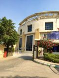 Gurgaon Kommunal Korporation byggnad, Indien Arkivbilder