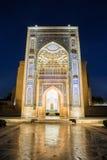Guri Amir à Samarkand la nuit Photo libre de droits