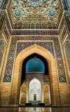 Guri Amir à Samarkand la nuit Photographie stock libre de droits