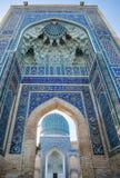 Guri Amir i Samarkand arkivbild