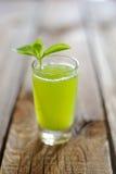 Gurkafruktsaft med mintkaramellsidor Royaltyfri Fotografi