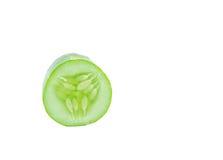Gurke getrennt auf weißem Hintergrund Stockfoto