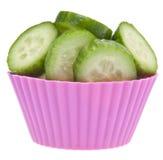 Gurke-nicht Kuchen-Diät Lizenzfreies Stockbild