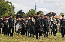 Gurkha Bandsmen Stock Photos