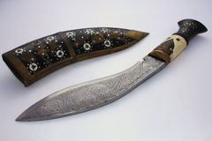 Gurkha knife Royalty Free Stock Image