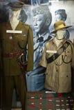 Gurkha uniforms in the Gurkha Memorial Museum, Pokhara, Nepal. Royalty Free Stock Images