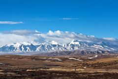 Gurla Mandhata Mountain, Tibet Stock Photo