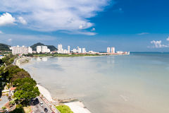 Gurney Drive of Penang Stock Images