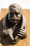 Gurning staty i västra cumbria för egremont Royaltyfri Fotografi