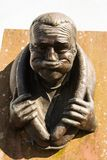 Gurningsstandbeeld in cumbria van het egremontwesten Royalty-vrije Stock Fotografie