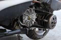 Gurtersatz-Flaschenzuggetriebe auf dem Roller ununterbrochen Wechselgetriebe u. x28; CVT& x29; stockbild