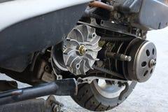 Gurtersatz-Flaschenzuggetriebe auf dem Roller ununterbrochen Wechselgetriebe u. x28; CVT& x29; stockfotos