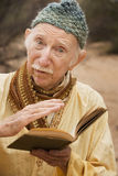Guru in the desert Royalty Free Stock Photography