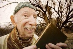 Guru in the desert Royalty Free Stock Image