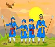 Guru Gobind Singh Jayanti Stock Photos