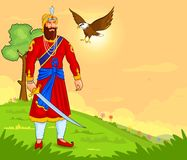 Guru Gobind Singh Jayanti Royalty Free Stock Photo