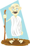Guru indiano ilustração royalty free