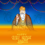 Guru Nanak Jayanti Royalty Free Stock Images