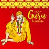 Guru Purnima. Royalty Free Stock Images