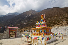 Guru Rinpoche monument royalty free stock image