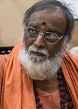 The guru and teacher Swami Ramanananda. Stock Photo