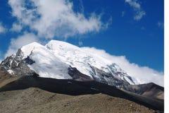 Gurudongmar на северном Сиккиме Стоковая Фотография