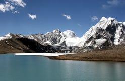 Gurudongmar lake. Royalty Free Stock Image