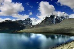Gurudongmar See, Nord-Sikkim, Indien Stockbilder