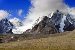 Gurudongmarmeer, Noord-Sikkim, India Royalty-vrije Stock Afbeelding