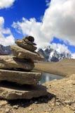 Gurudongmarmeer, Noord-Sikkim, India Royalty-vrije Stock Foto