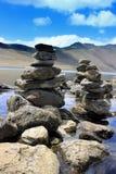Gurudongmarmeer, Noord-Sikkim, India Royalty-vrije Stock Fotografie