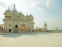 Gurudwara曼迪在喜马偕尔邦,印度 库存照片