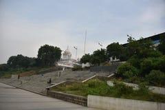 Gurudwara Banda Ghat Sahib, Nanded, maharashtra, India immagine stock libera da diritti