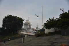 Gurudwara Banda Ghat Sahib, Nanded, maharashtra, India immagini stock libere da diritti