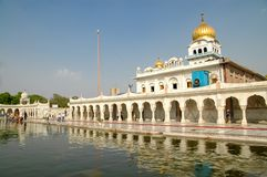 Gurudwara Bangla Sahib à New Delhi, Inde Photo stock