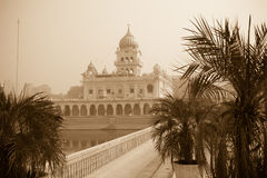 Gurudwara Bangla Sahib, Delhi, India Royalty Free Stock Image