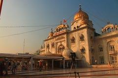 Gurudwara Bangla Sahib Neu-Delhi Lizenzfreies Stockfoto