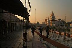 Gurudwara Bangla Sahib Neu-Delhi Stockbild