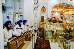 Gurudwara Bangla Sahib in Neu-Delhi, Indien Lizenzfreies Stockbild