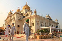 Gurudwara Bangla Sahib New delhi Royalty Free Stock Photo